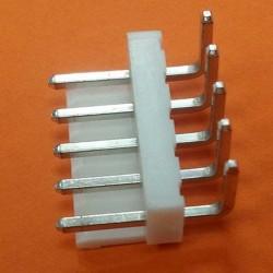 PIN HEADER 90º  3,96mm  5...