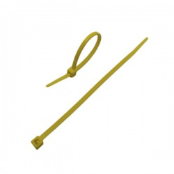 CABLE TIE 290x4,8 YELLOW
